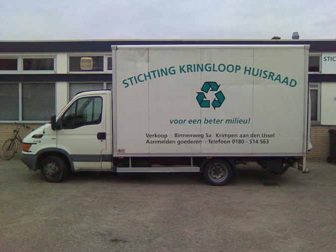 Stichting kringloop krimpen aan den ijssel for Spiegel 2x1m